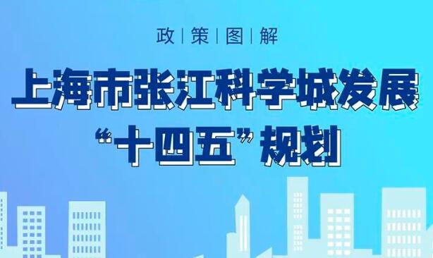"""面积由95平方公里扩区至220平方公里,张江科学城""""十四五""""规划今日发布"""